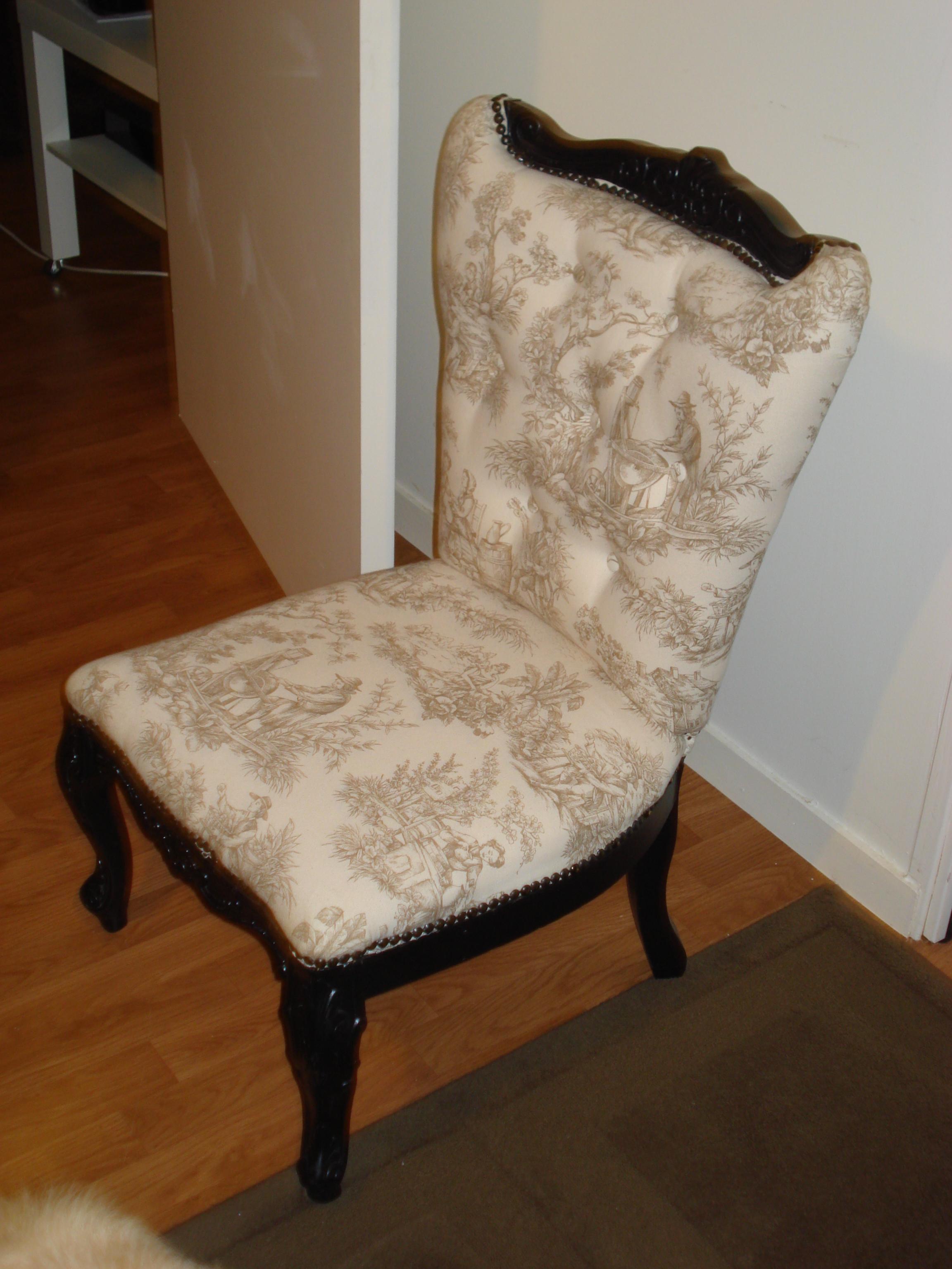 fauteuil menuiserie au f minin bricolage restauration. Black Bedroom Furniture Sets. Home Design Ideas